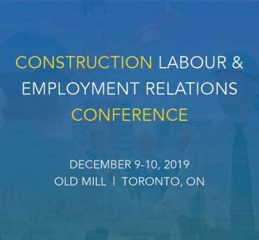 Construction Labour and Employment Relations Conference